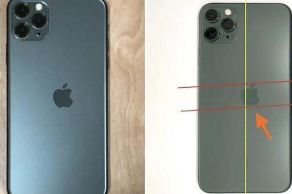 Máy iPhone 11 Pro có logo bị lệch được bán với giá 'khủng', liệu máy của bạn có thế không?