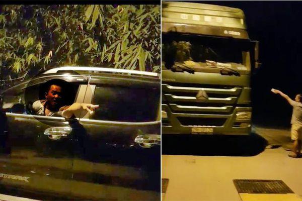 Kiểm tra xe chở quá tải 200%, Thanh tra GTVT Hà Nội bị dọa đánh