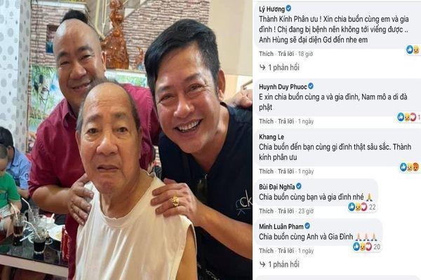 Sao Việt và người hâm mộ tiếc thương nghệ sĩ Đức Lang