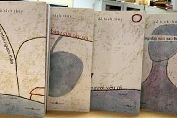 Nhà văn Đỗ Bích Thúy ra mắt 4 cuốn sách