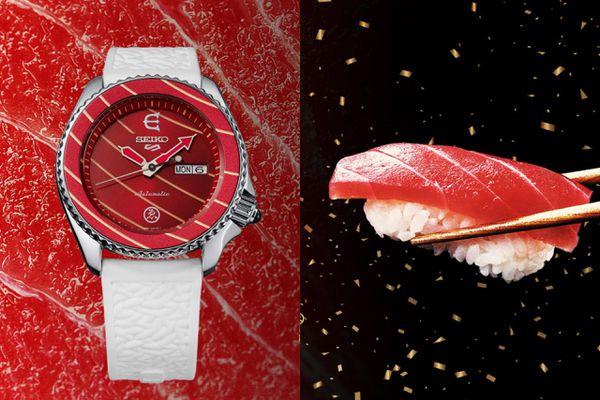 Đồng hồ được lấy cảm hứng từ sushi, ván trượt