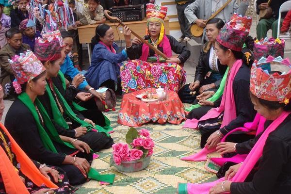 Lễ hội Then Kin Pang nét văn hóa đặc sắc của người Thái ở Lai Châu