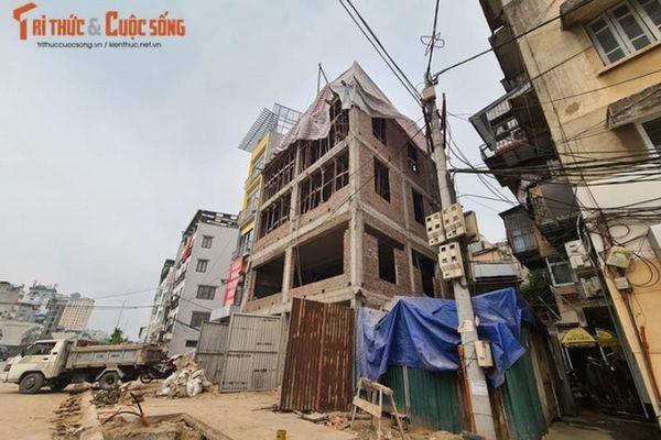 Công trình 189 Minh Khai bị phản ánh vi phạm TTXD: Chính quyền nói gì?