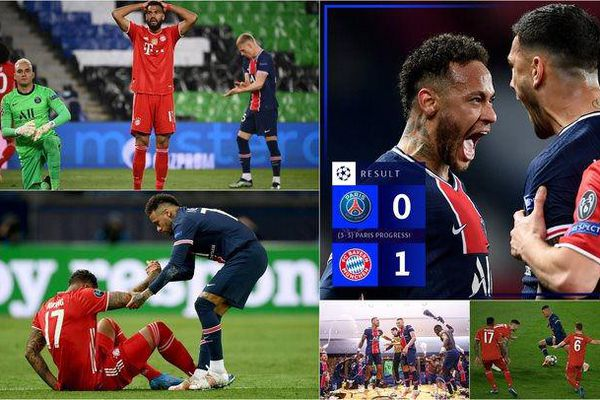 Bayern Munich trở thành cựu vương Champions League