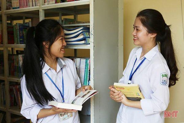 'Đại sứ văn hóa đọc' Hà Tĩnh: Sách giúp chúng em làm chủ kiến thức