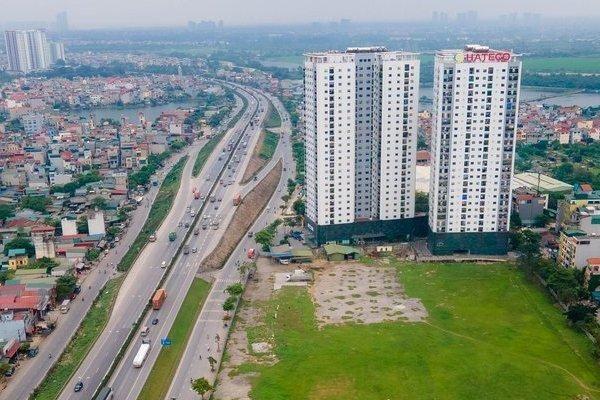 Bên trong dự án bến xe Yên Sở sau 5 năm vẫn là bãi đất trống