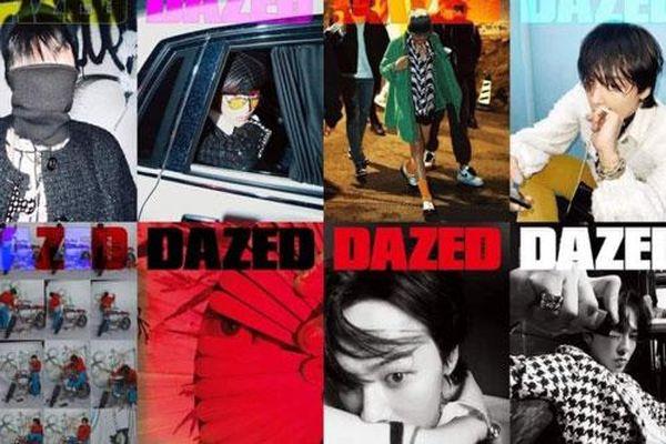 G-Dragon khẳng định đẳng cấp 'Ông hoàng thời trang' với 8 trang bìa tạp chí