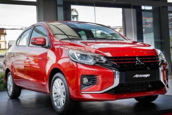 Vì sao Mitsubishi Attrage 'chen chân' vào Top 10 xe bán chạy?