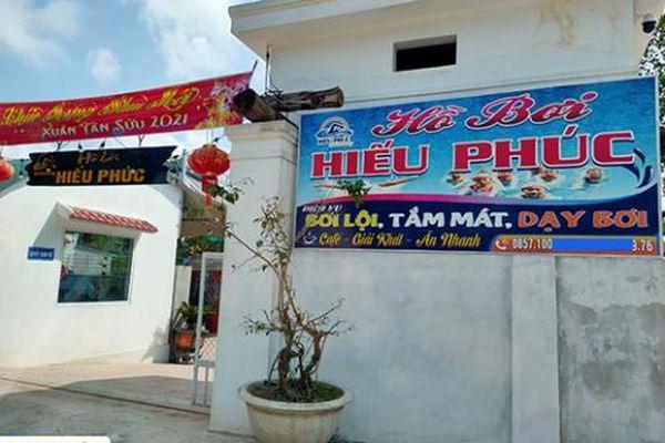 Phó Trưởng phòng GD&ĐT ở Quảng Bình kinh doanh hồ bơi trái phép?