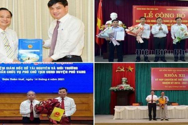 Kiện toàn nhân sự, bổ nhiệm lãnh đạo mới TP.HCM, Thừa Thiên - Huế, Điện Biên