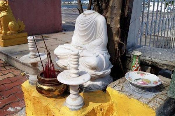 Đà Nẵng: Truy tìm kẻ xúc phạm miếu thờ