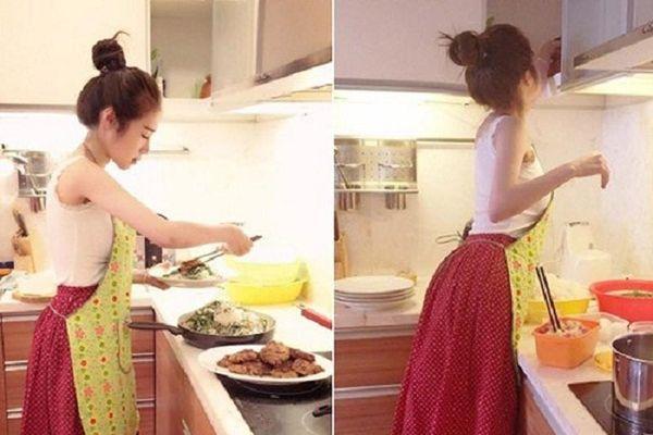 Elly Trần trổ tài nấu món chay 'đỉnh của chóp', nhìn là muốn ăn