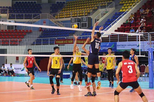 Thắng Hà Nội, bóng chuyền Hà Tĩnh giành vé dự Cúp Hùng Vương