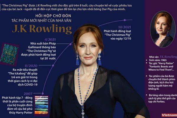 Hồi hộp chờ đón tác phẩm mới nhất của nhà văn Rowling