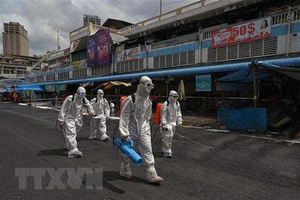 Campuchia: Số ca nhiễm COVID-19 vẫn tăng cao sau ngày đầu phong tỏa