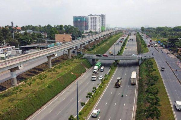 Video toàn cảnh tuyến Xa lộ Hà Nội sau hơn 10 năm mở rộng