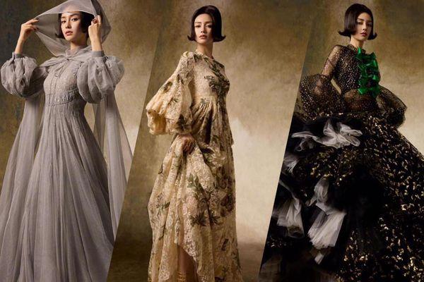 Angelababy khác lạ với loạt váy Haute Couture xa xỉ khiến fan không nhận ra