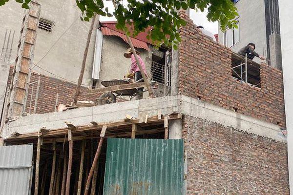 Mất an toàn tại công trình xây dựng nhỏ lẻ