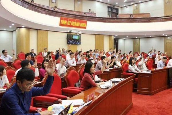 Quảng Ninh: Chốt danh sách 110 người ứng cử HĐND tỉnh