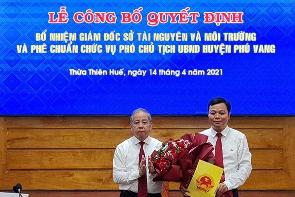 Thừa Thiên Huế bổ nhiệm nhiều cán bộ chủ chốt