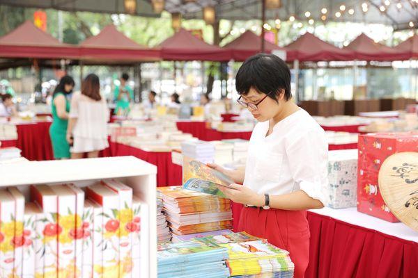 Khai mạc 'Phiên chợ sách - một nét văn hóa Hà Nội'