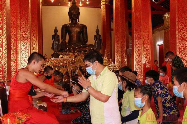 Tết cổ truyền Bun Pi Mày 2564 tại Lào