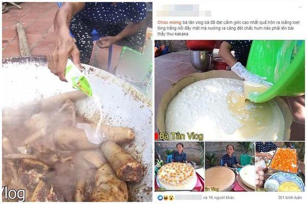 'Cơm rang trân châu' và những món ăn khó hiểu của Bà Tân Vlog