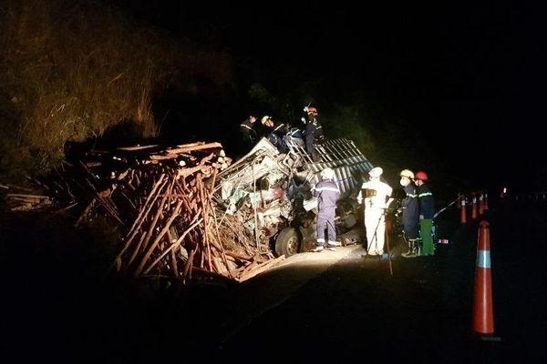Tai nạn giao thông nghiêm trọng trên đèo Mang Yang