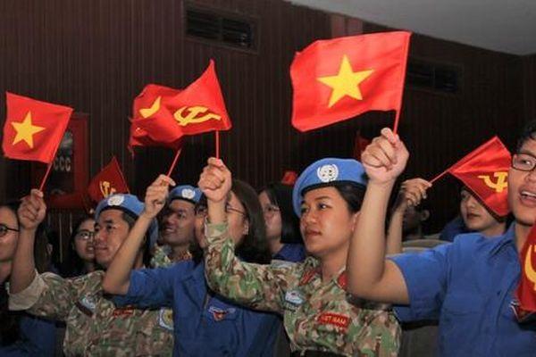 Tâm sự của chiến sỹ 'mũ nồi xanh' trước ngày lên đường sang Nam Sudan làm nhiệm vụ