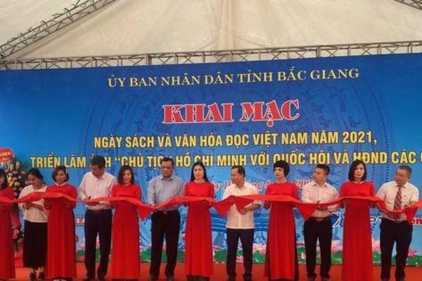 Nhà sách Tiền Phong giảm đến 80% tại Ngày sách Việt Nam tỉnh Bắc Giang năm 2021