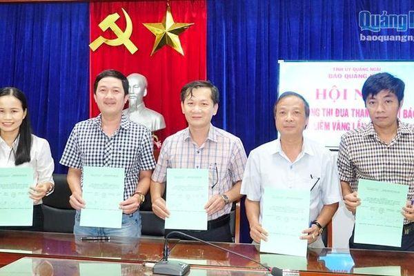 Báo Quảng Ngãi- Phát động thi đua tham gia các giải báo chí