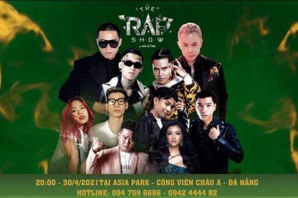Tuy lỡ hẹn với Rap Việt Concert, Binz sẽ góp mặt trong The Rap Show tại Đà Nẵng
