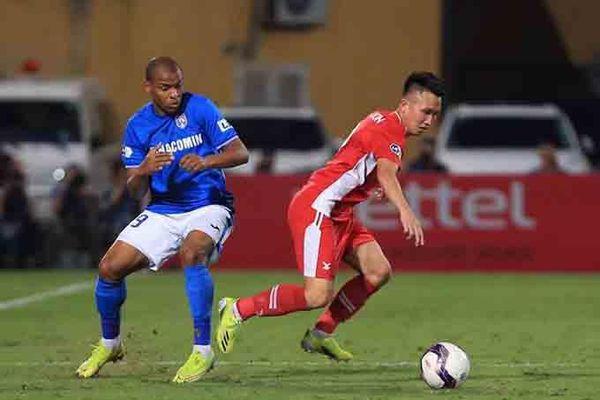 Câu lạc bộ Viettel thắng thuyết phục Than Quảng Ninh trên sân nhà