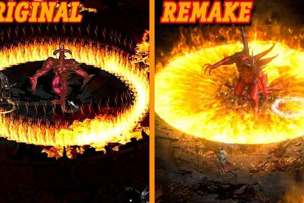 So sánh Diablo II gốc và bản làm lại