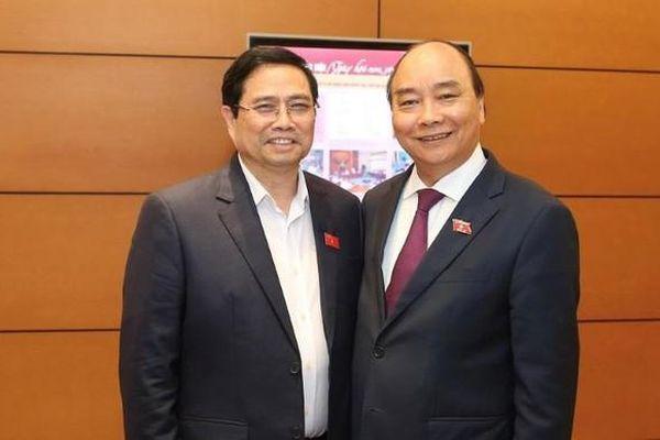 Thư, điện mừng Chủ tịch nước Nguyễn Xuân Phúc, Thủ tướng Phạm Minh Chính