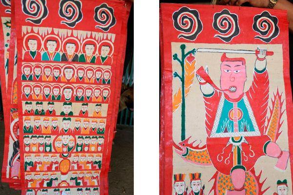 Tranh thờ: Nét văn hóa độc đáo của người Dao