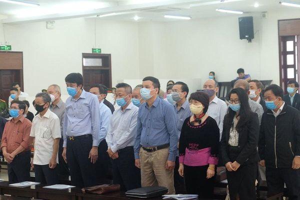 Vụ án xảy ra tại TISCO: Các bị cáo nói lời ân hận và xin được giảm nhẹ hình phạt