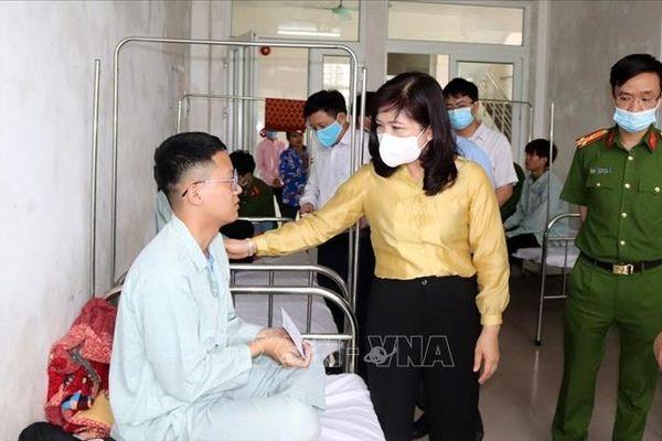 Tất cả công nhân trong vụ tai nạn giao thông ở Đầm Hà, Quảng Ninh đều an toàn