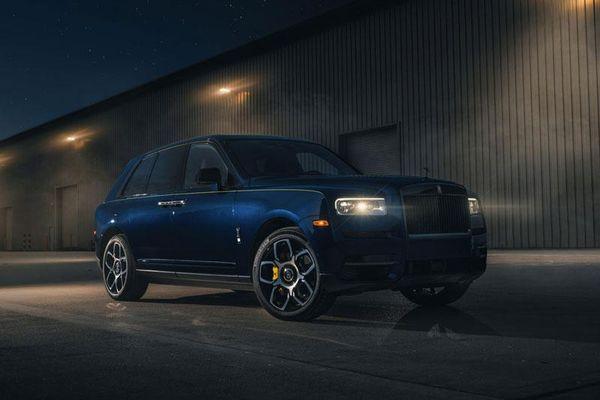 Siêu SUV Rolls-Royce Cullinan bản đặc biệt lấy cảm hứng từ đường đua