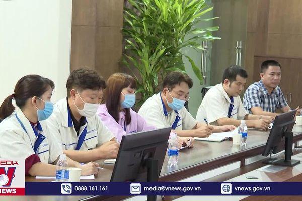 Khắc phục hậu quả hỏa hoạn tại công ty Dreamtech Việt Nam