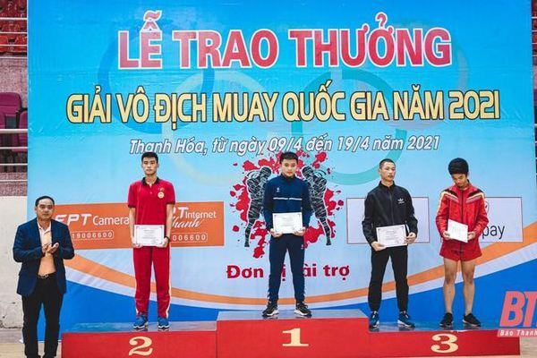 Giải vô địch Muay quốc gia 2021: Thanh Hóa xếp thứ nhất toàn đoàn lứa tuổi trẻ