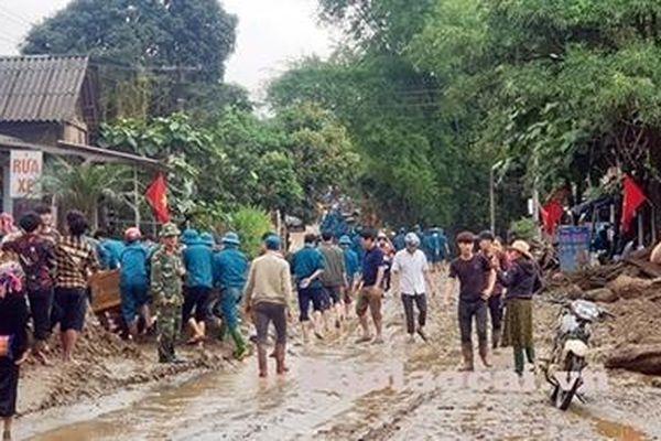 Lào Cai khẩn trương khắc phục hậu quả trận lũ ống tại xã Minh Lương
