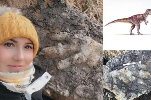 Bí mật thú vị về dấu chân khủng long 175 triệu năm tuổi