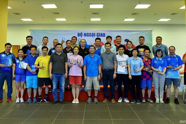 Tưng bừng Giải bóng bàn Vụ Trung Đông-châu Phi mở rộng