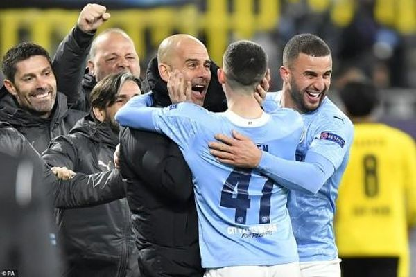 Guardiola cùng Man City hóa giải 'lời nguyền'
