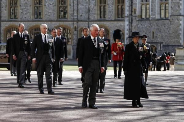 Hoàng thân Philip được tôn vinh trong lễ tang
