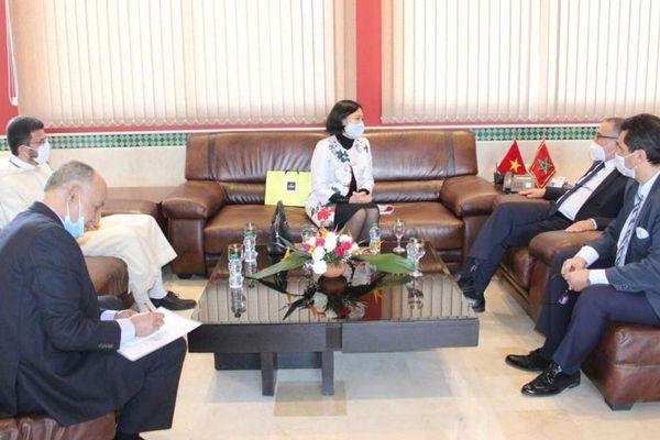 Tăng cường hợp tác nhiều mặt giữa Đà Nẵng và Tanger, Morocco