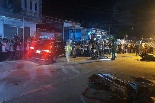 Khởi tố tài xế ô tô gây tai nạn liên hoàn khiến 7 người thương vong