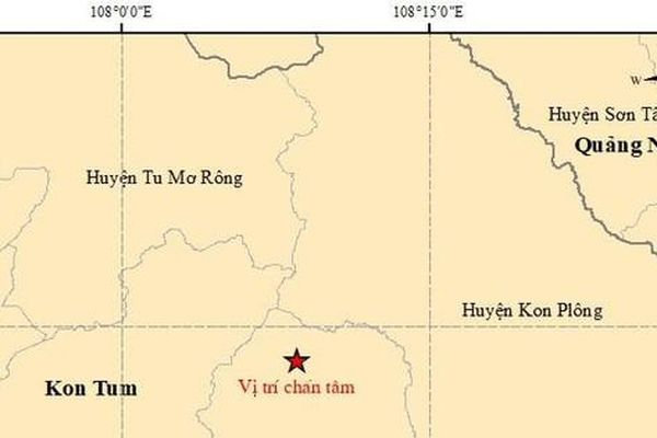 Liên tiếp động đất ở Tây Nguyên