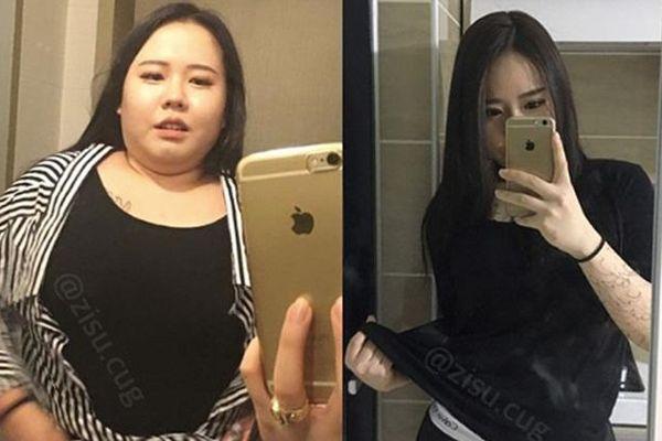 Hot girl Hàn Quốc vẫn 'đánh bay' 30kg dư thừa nhờ áp dụng những tuyệt chiêu này!